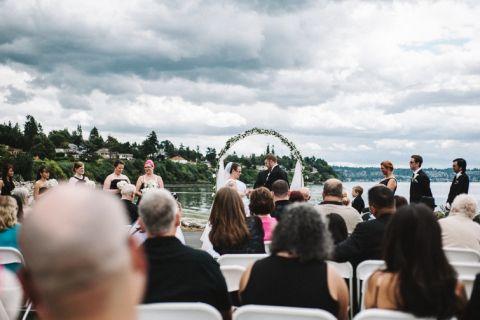 Yacht Club Wedding - Tiffany + Roland | Taylor Jones Photo
