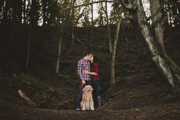 point-defiance-engagement-session-liz-justin-11-of-170 Woodsy PNW Engagement Session - Liz + Justin Engagements