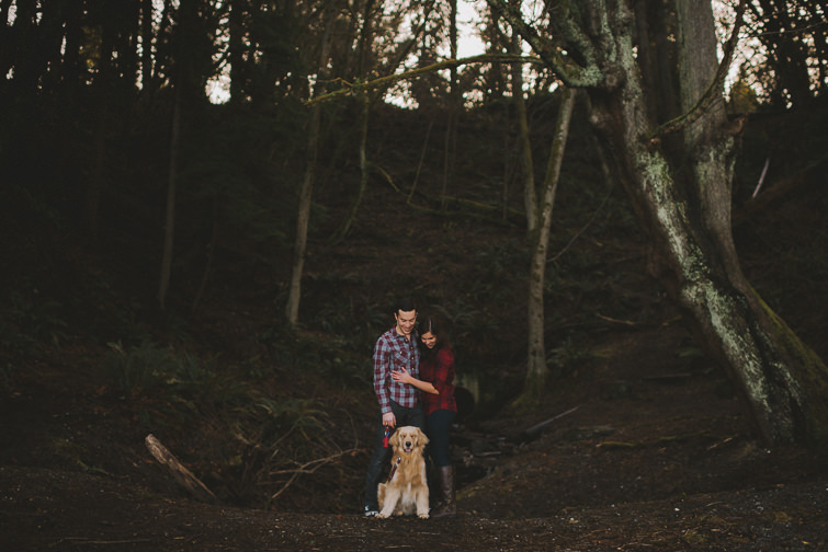 point-defiance-engagement-session-liz-justin-3-of-170 Woodsy PNW Engagement Session - Liz + Justin Engagements